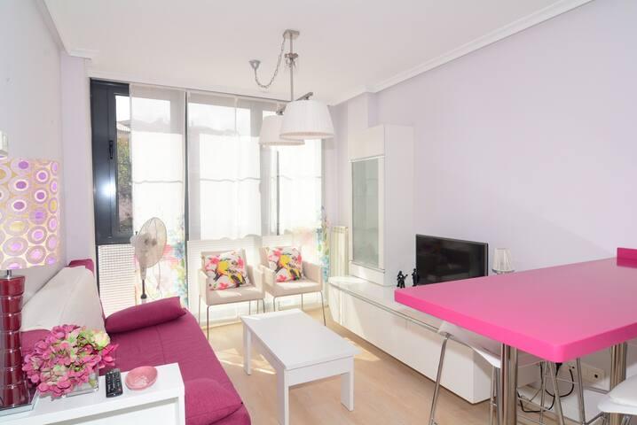 Luminoso apartamento en centro de Llanes