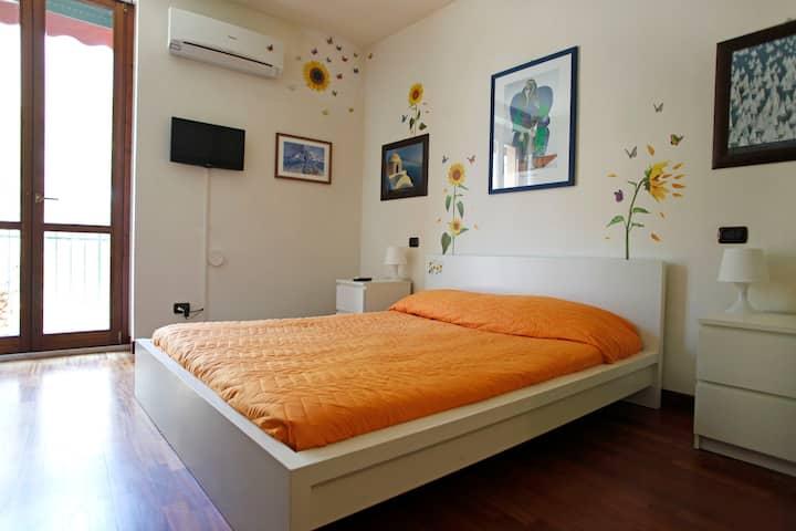 Sunflowers's apartment. Elegant apartment  110 mq.
