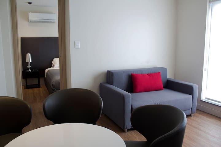 Apartamento 2 ambientes con terraza en Pocitos