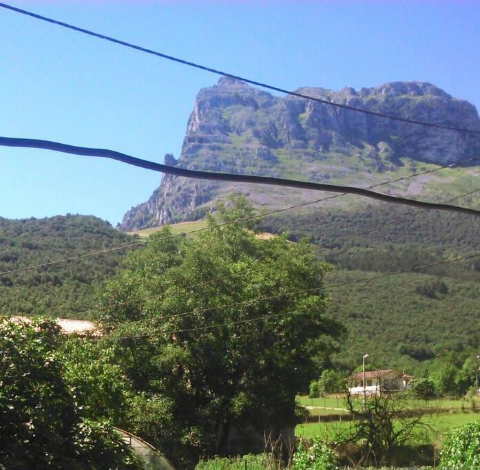Las vistas desde el balcón