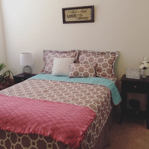 Private Bedroom and bathroom Greenville SC