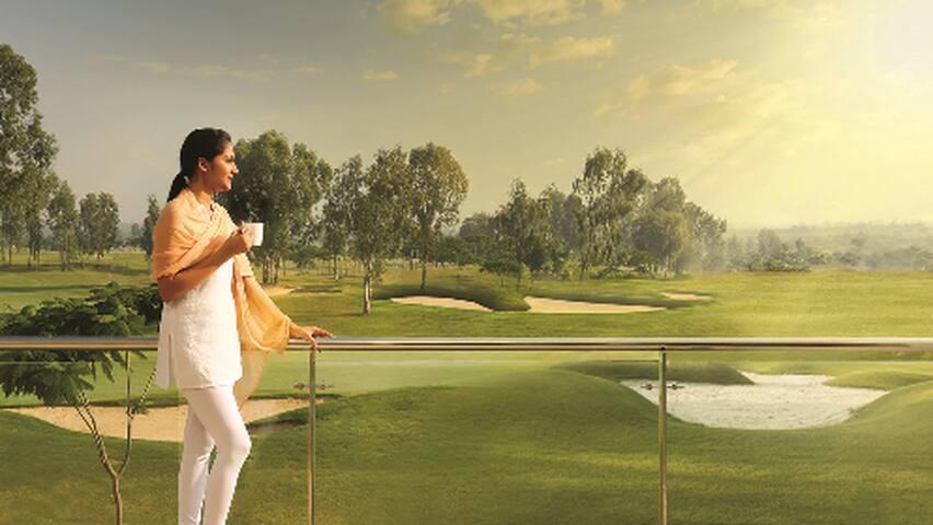 Villas on a breathtaking golf course