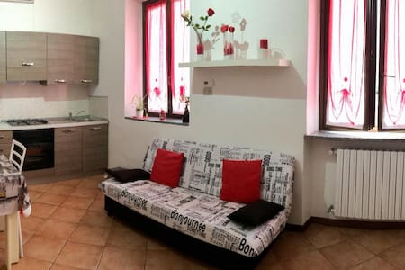 Furnished two-room apartment 20 minutes from Milan