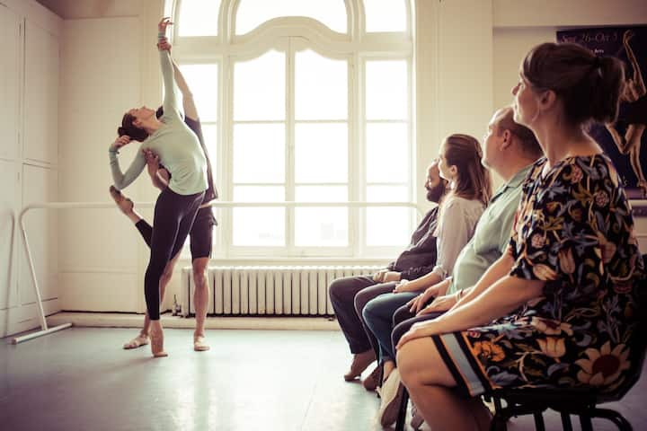Watch the pro company in rehearsal!