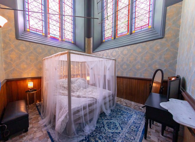 Sleep like royalty in your own castle