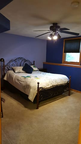 Private bedroom on lower level - Janesville