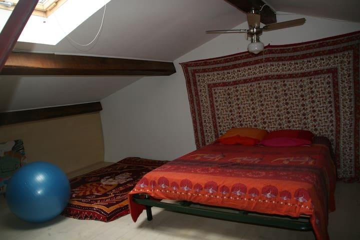 Double chambre dans maison de ville