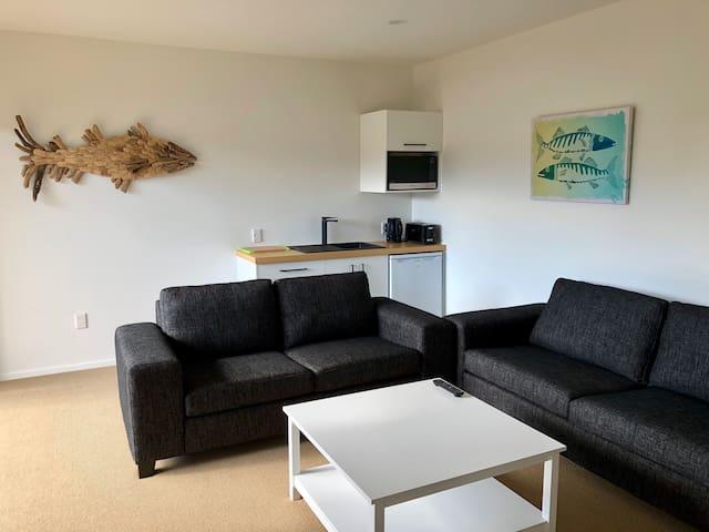 New modern beachside apartment