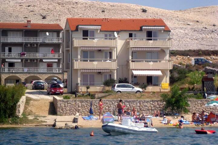 One bedroom apartment near beach Vidalići, Pag (A-9392-b) - Vidalići - Andre