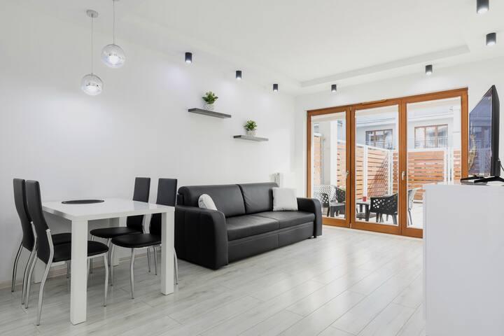Beautiful Apartment with terrace in Świnoujście