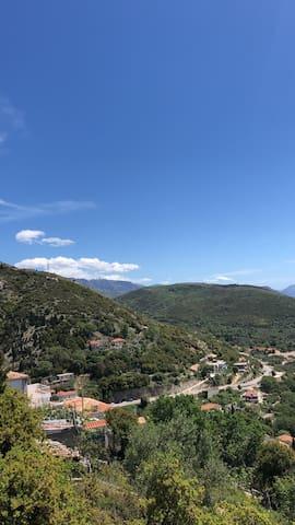 Vuno is beautiful village in a Coastal of Albania