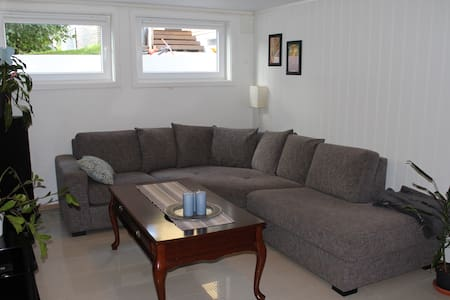 55m2 apartment close to Oslo S and airport - Sorum - 公寓