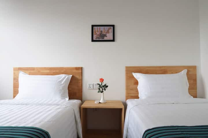 Comfortable and relaxing accommodation