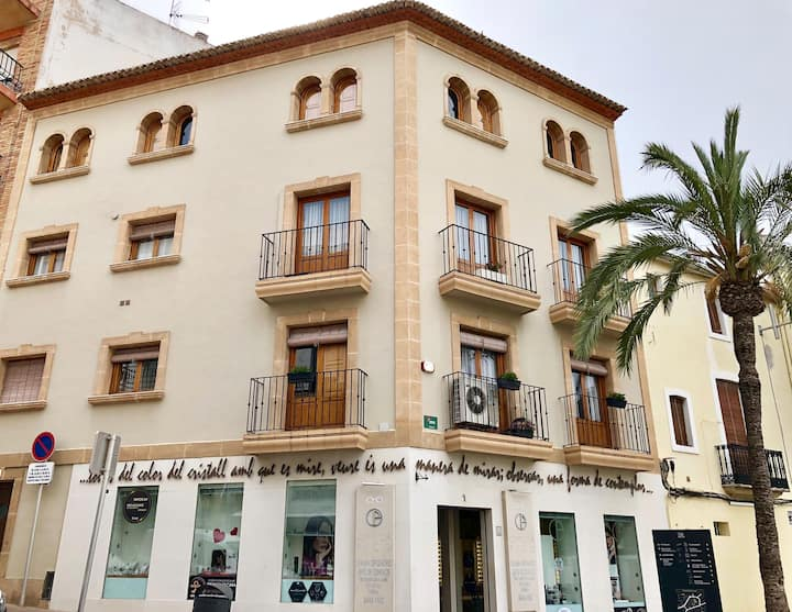 Hause in historic center of Jávea with view.