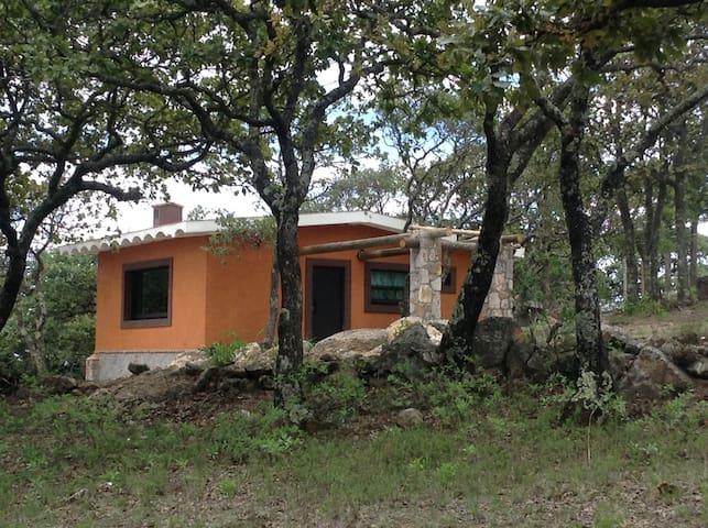 La cabaña de la Aldaba Hostal Sierra de Lobos.
