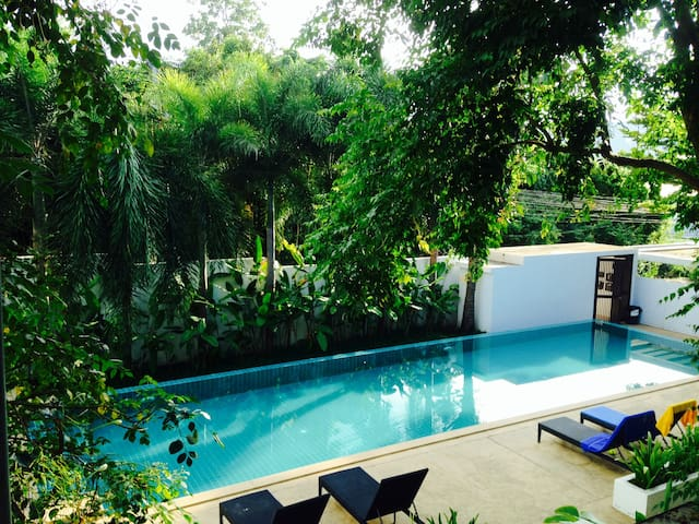 Condo2BR+Pool -Walk to Beach-Bophut - Ko Samui - House