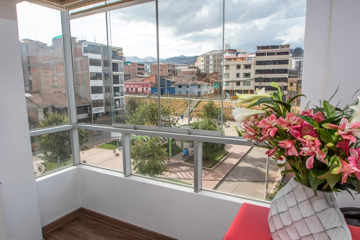 View to the park, ideal for two people TERRANOSTRA
