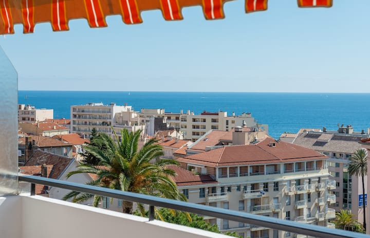IMMOGROOM - Apartment with sea view terrace and A/C - CONGRESS/BEACHES