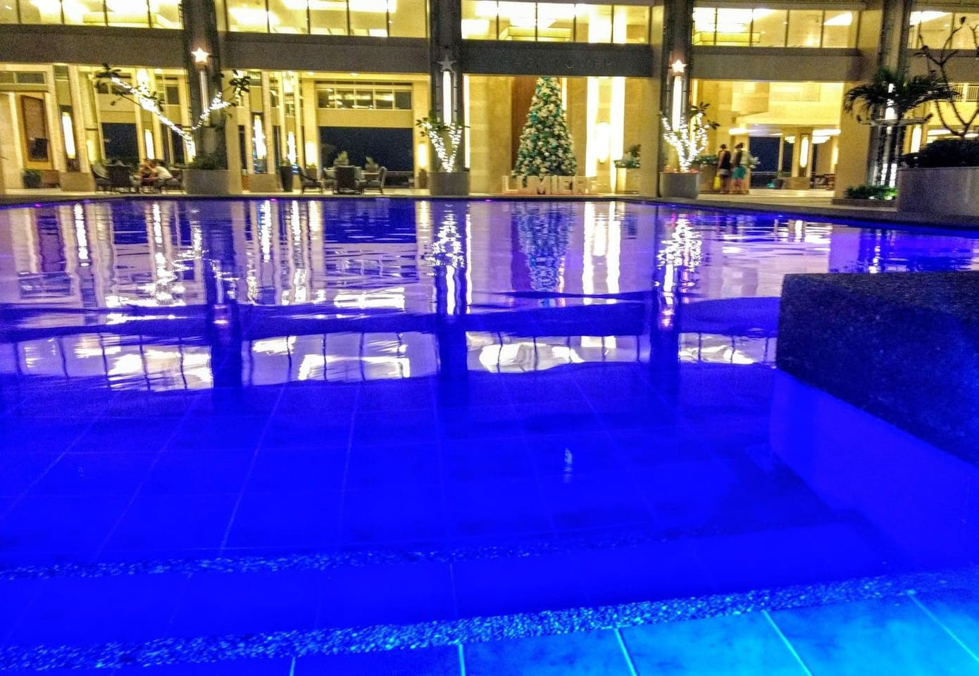 Two Large Swimming pools