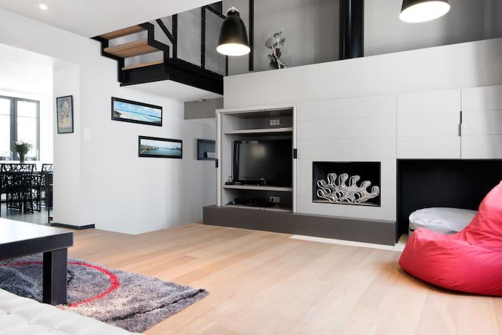 Maison contemporaine intra muros