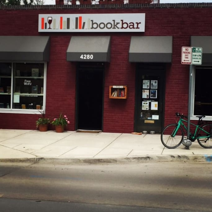 Right above the popular BookBar, Denver's bookstore wine bar