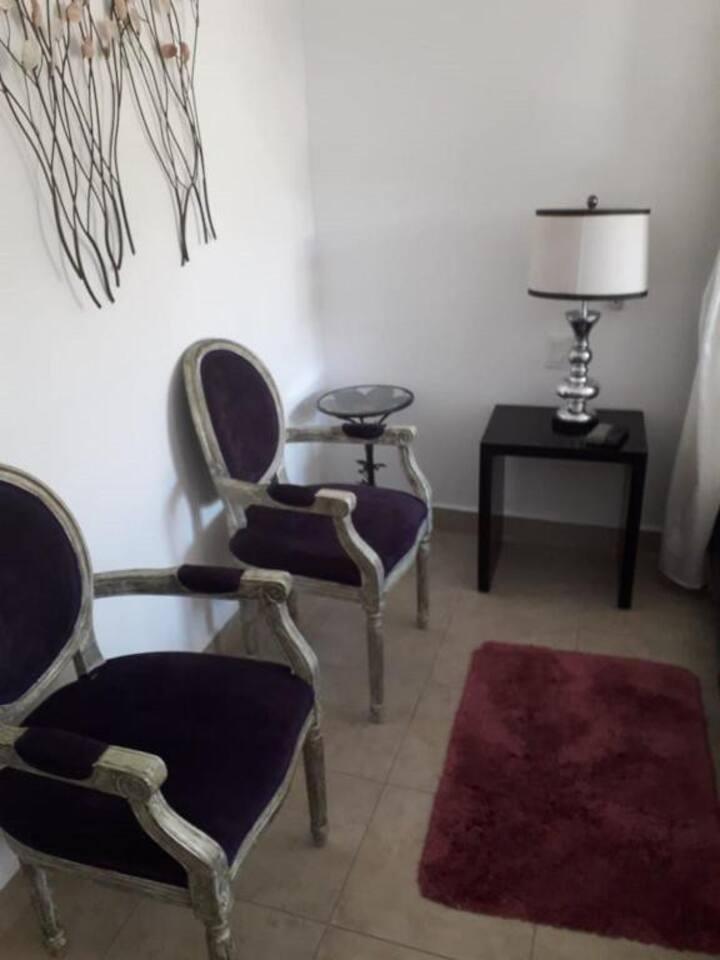 Hotel Casa Ticul.Habitación master suite cama king
