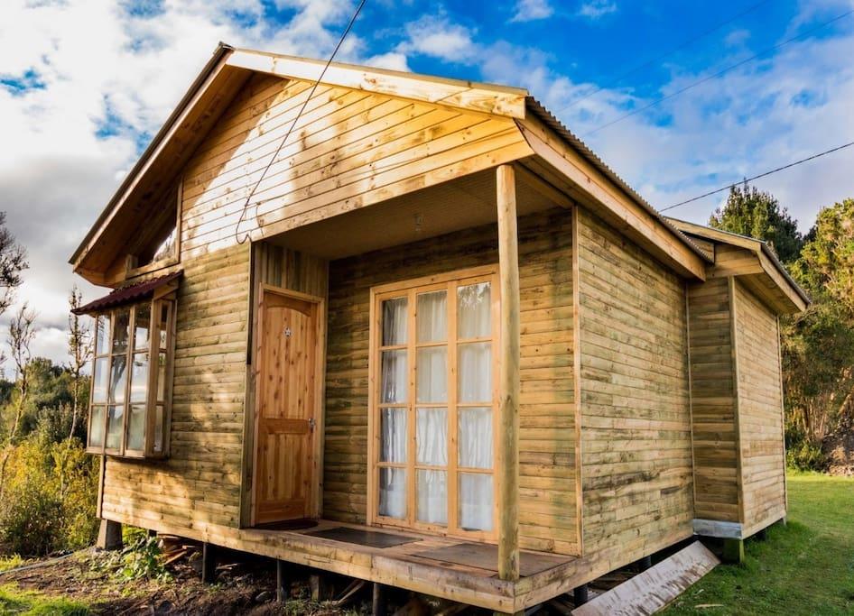 Cabaña N° 3 de un piso para 5 personas