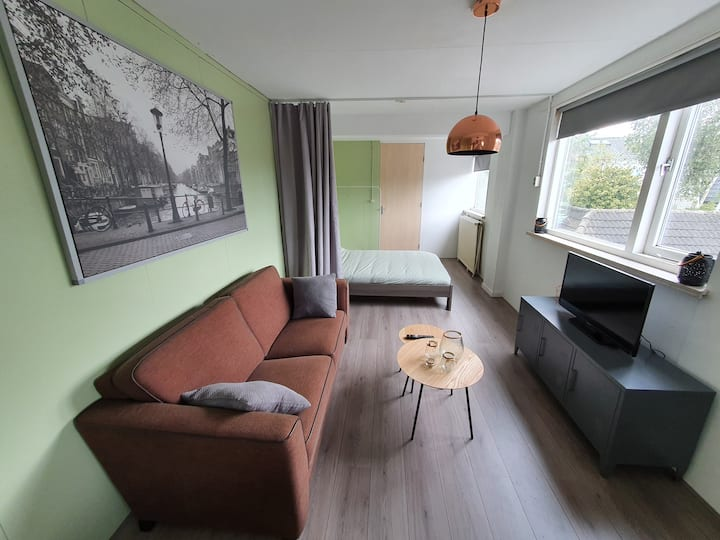 Beautiful studio Hilversum cntr 20min to Amsterdam