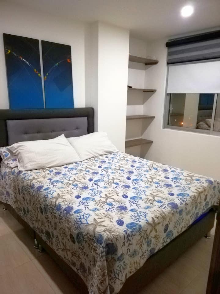 Excelente habitación -Apartamento