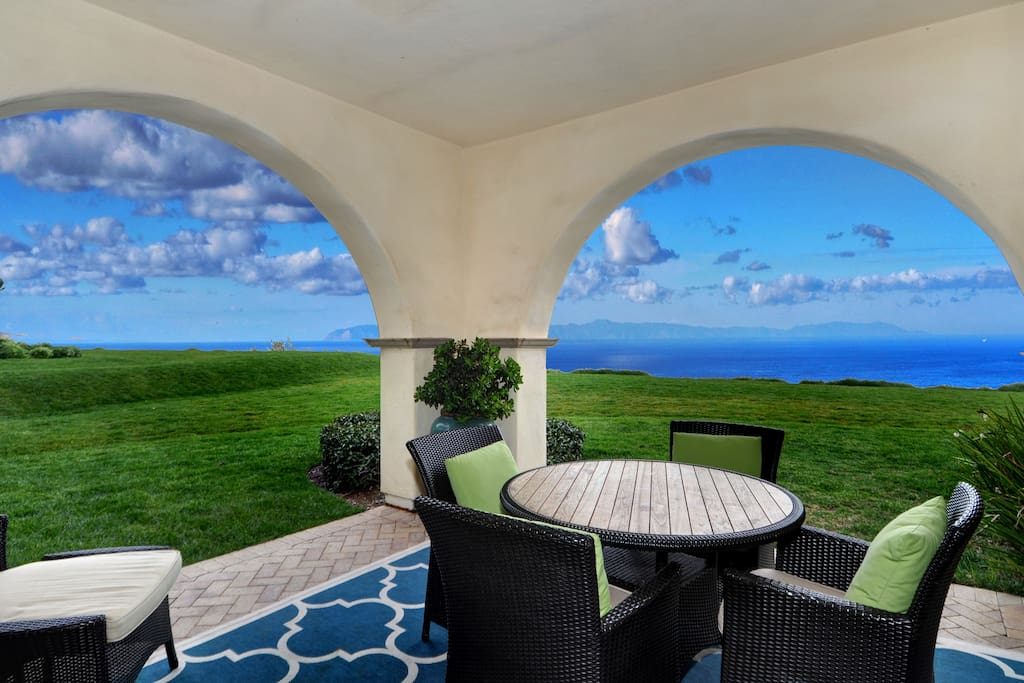 Enlarged patio flows from Living Room & Master Bedroom with Awesom Ocean View