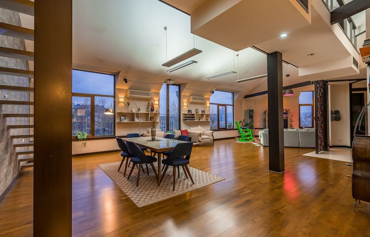 SPACIOUS and UNIQUE penthouse in Tbilisi Centre