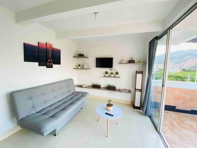 Apartamento moderno Medellin - Excelente Ubicación