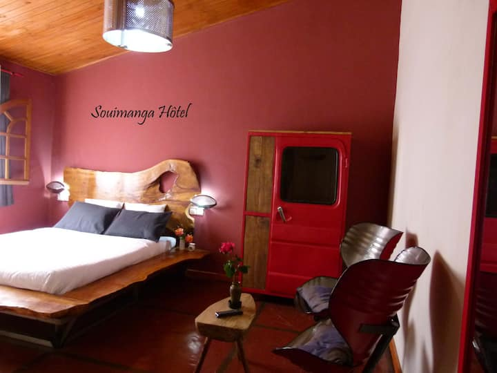 Une chambre cosy romantique