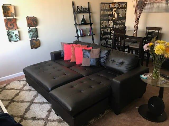 Private one bedroom in friendly area W/ Gym & Pool