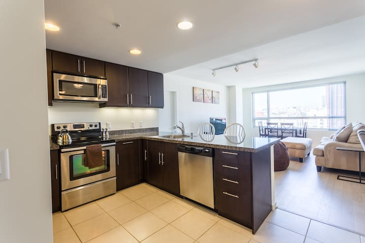 Desirable 2br/2ba SOMA/MissionBay/AT&TPark/Moscone