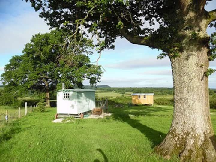 Gabriel Oak shepherd's hut