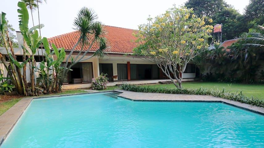 Versatile House With Beautiful Garden Beyond