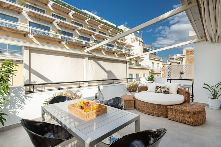Open skies - Penthouse in Plaka - ACROPOLIS VIEW!