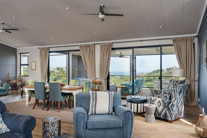Dunkirk Estate Penthouse with Sea and Forest Views