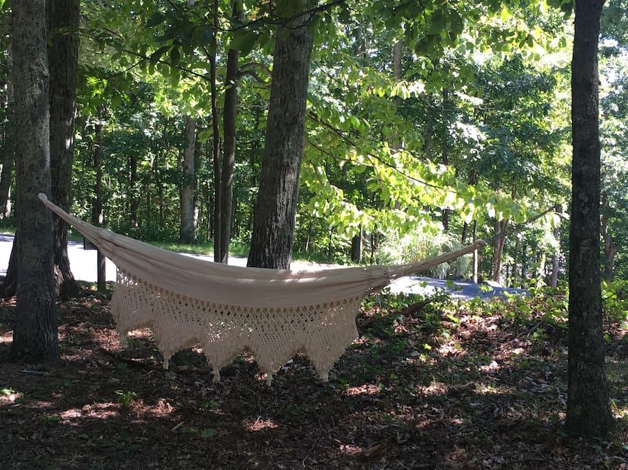 Brazilian hammock included!