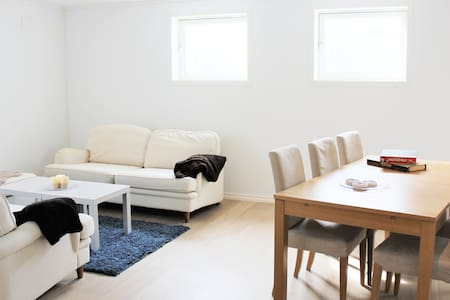 Bright apartement near Gardermoen/Kløfta/Jessheim - Ullensaker - 公寓