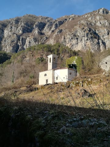 Restored Church in secret Palcoda