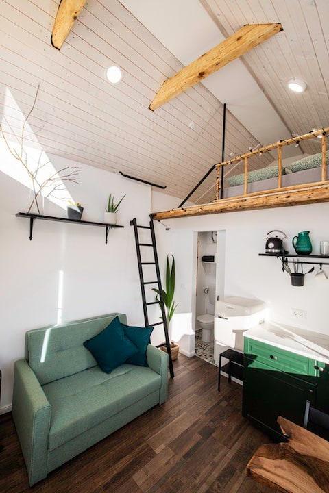 Tiny Luna house with sauna