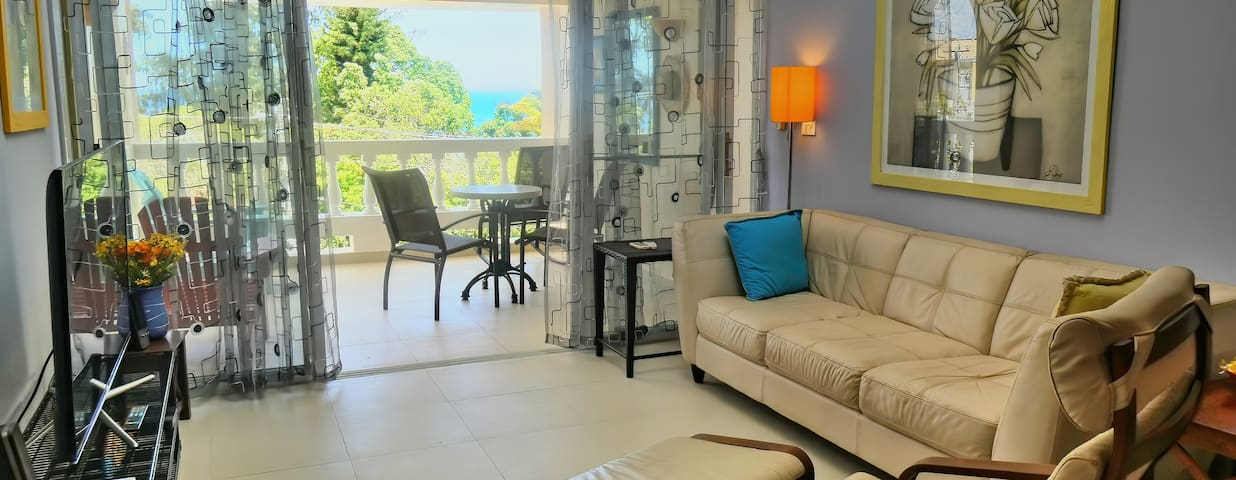 2 BR Sosua Penthouse C6, Ocean View No Car Needed
