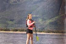 Paddle Boarding Lake Dillon