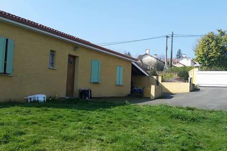 Maison avec jardin au calme - Pouyastruc - Huis