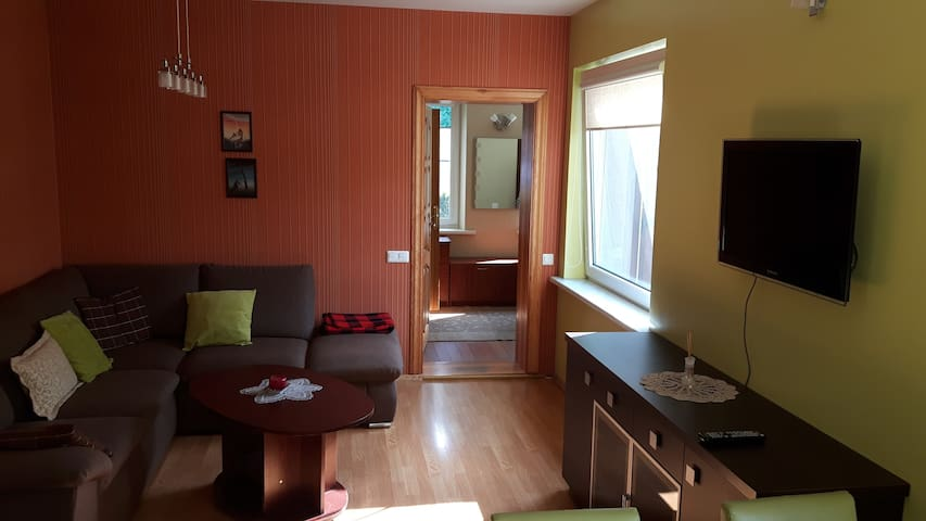 3 rooms apartment in the center of Palanga - Palanga - House
