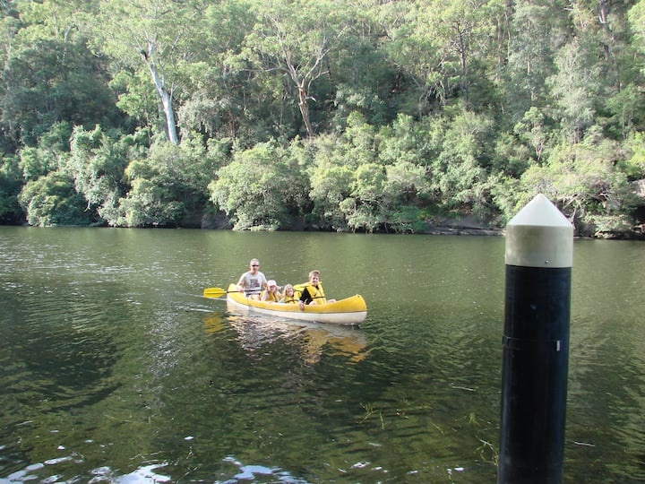 Colo River Hideaway 80 mins from Sydney CBD.