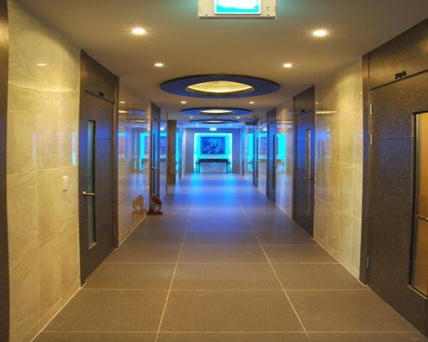 객실복도 Corridors in rooms