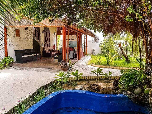 Charming Eco-Friendly Villa Steps To The Beach